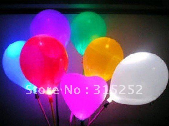 New led flashing balloon, lighting balloon, holiday balloon, Christmas ballon 200 pcs/lot