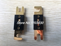 30 pcs Gold Plated Fuse 150A 150 AMP for Auto Car Boat Truck Audio 80x20mm