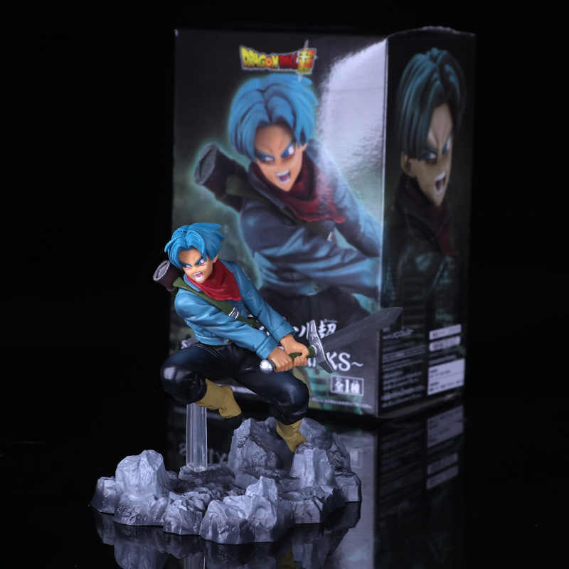 12-13 cm Dragon Ball Z Goku Troncos Torankusu Anime Action Figure PVC Nova Coleção figuras brinquedos brinquedos Coleção