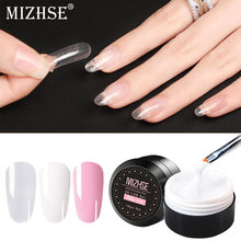 Mizhse Uv Gel Poly Gel Nagels Polygels Builder Poligel Nagels Kit Extension Acryl Nail Art Crystal Uv Hars Builder Gellak 15 Ml(China)