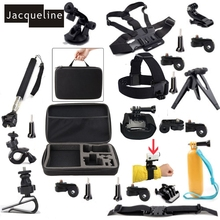 Jacqueline for Accessories Kit for Sony Action Cam HDR-AS15 AS200V AZ1 Mini AS20 AS30V AS100V AS50 AS300 Tripod mount