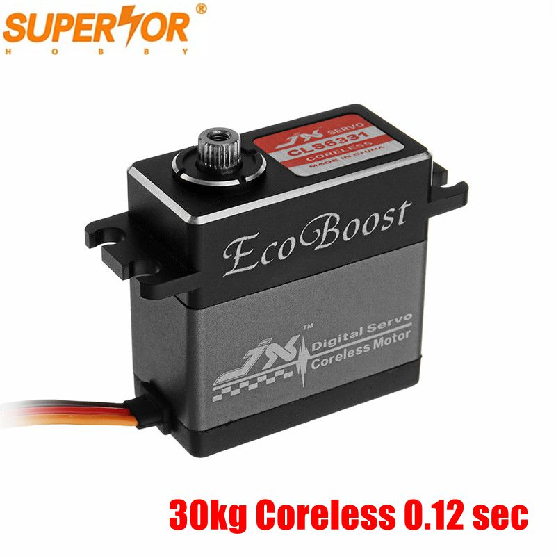 JX CLS6331 30kg Alum Shell Metal gear Coreless Digital Servo for 1/10 RC4WD KYOSHO traxxas hsp hpi RC car buggy crawler JX CLS6331 30kg Alum Shell Metal gear Coreless Digital Servo for 1/10 RC4WD KYOSHO traxxas hsp hpi RC car buggy crawler