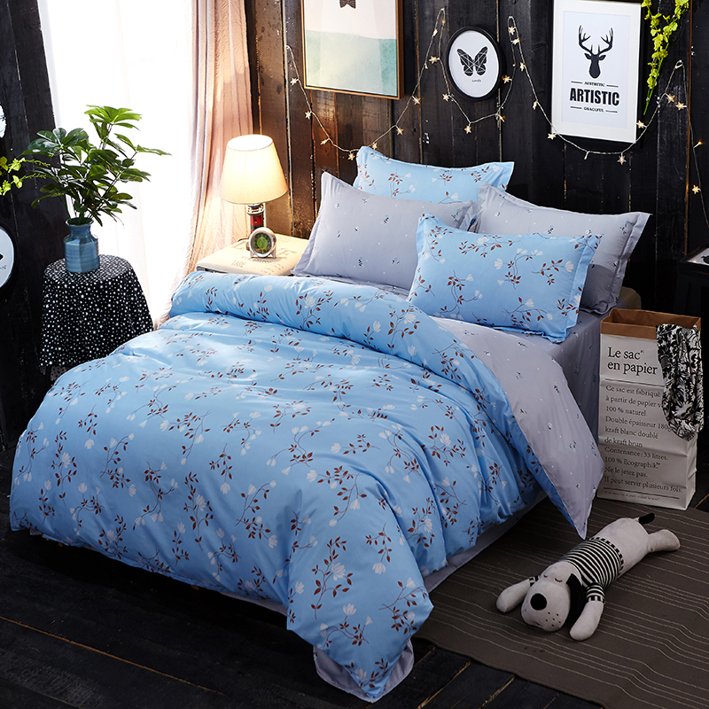 Soft comfortable bedding sets for Home Soft Comfortable Duvet Cover Set Twin Full Queen King Size