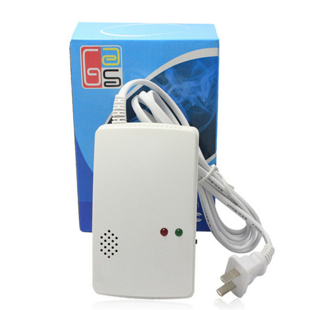 Portable Home Security Standalone Combustible Gas Alarm Gas Leak Detector Tester Propane Methane Natural Gas Alarm Sensor Safe