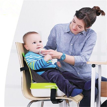 Baby Safety Waterproof Soft Dinner Chair Mummy Package Bag  Fashion Infant Seat Feeding Highchair For Baby chair Seat Nappy Bags