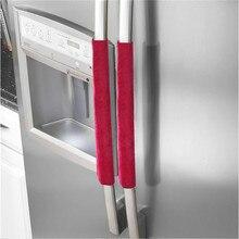 Пара крышки ручки холодильника кухонная техника крышка холодильника кухонные аксессуары Прямая поставка украшения для дома