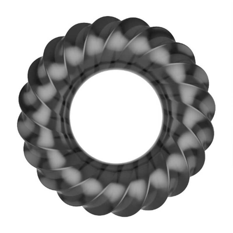 Retarder l'éjaculation anneau de pénis anneau d'agrandissement de la bite manchon de pénis stimulateur clitoridien préservatifs réutilisables Sex Toy pour hommes Extender