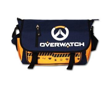 HOT Game Overwatch OW shoulder bag student book bag Messenger Bag Travel Bag men Computer women package shoulder bag