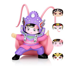 Opera DIY Toys Action Figure Fun Novelty Anime Figure Ornaments Gift BeiJing Traditional Facechanging Doll 4 Faces Peaking цена и фото