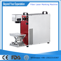 High quality IPG 20 watt laser marking machine for metal