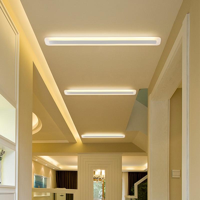 moderno led luz teto escritorio sala 02