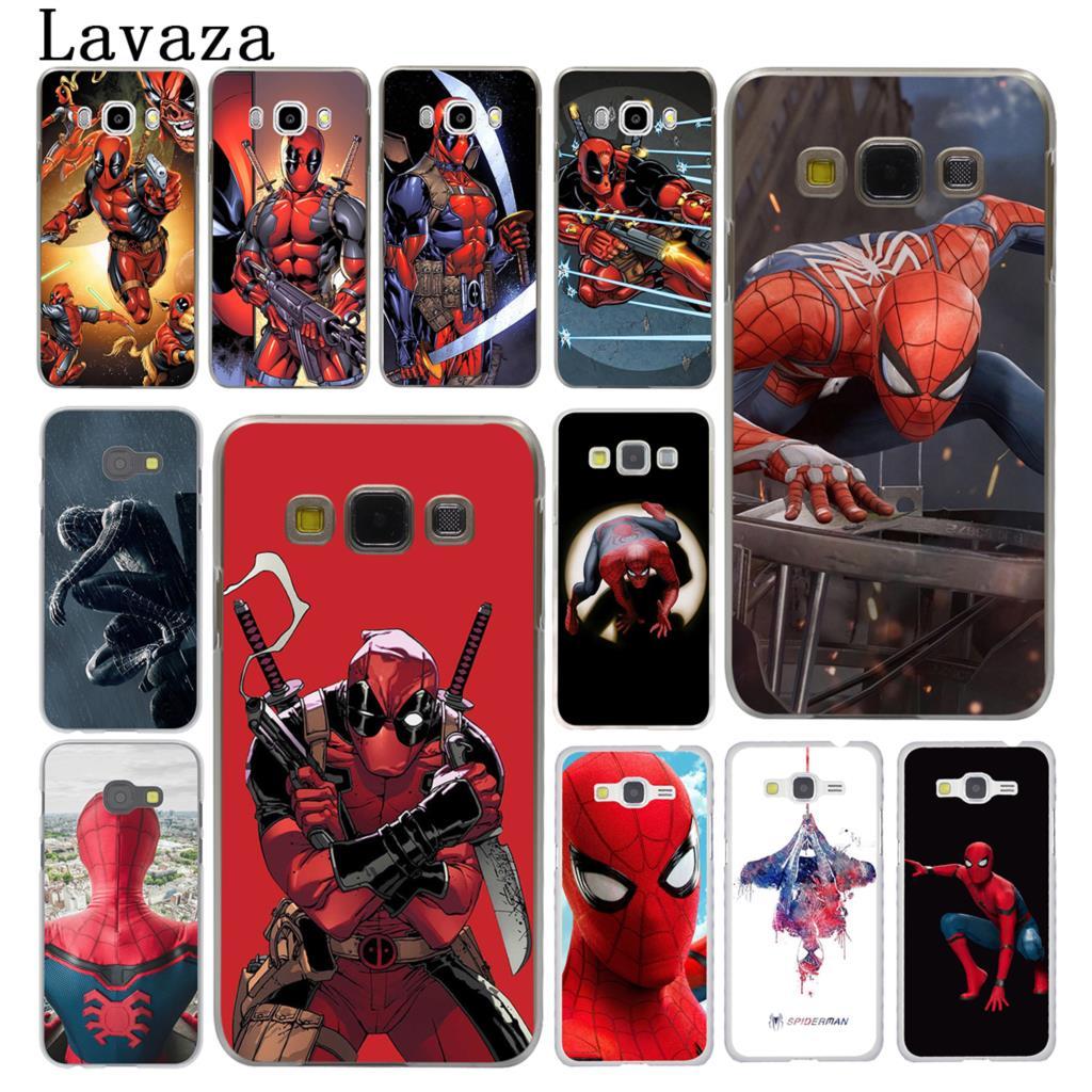 Deadpool And Spider Man 1: Lavaza Spider Man Deadpool Spider Man Marve Hard Phone
