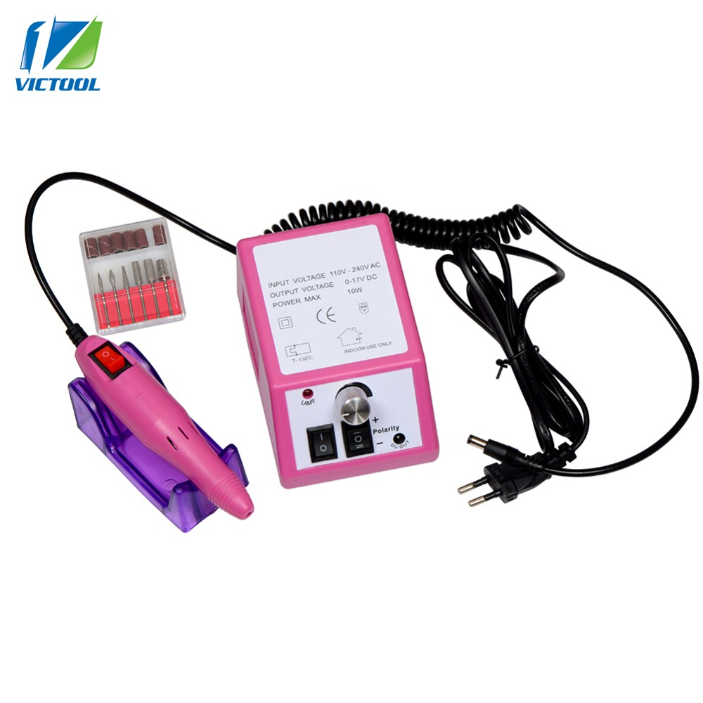 20000 RPM Pro Nail Drill Machine Electric Manicure Pedicure Polisher Nail Tool Kit For Removing