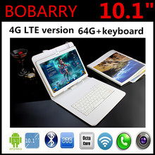 10.1 inch 4G Lte The Tablet PC Octa Core 4G RAM 64GB ROM Dual SIM Card Android 5.1 Tab GPS bluetooth tablets 10 10.1 + Gifts