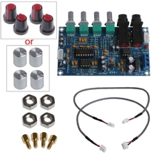 Dual Power Microphone Amplifier Board Sound AMP Module Digital Reverb Plate