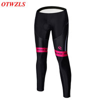 OTWZLS New Stytle Bicycle Pants Women Long Padded Quick Dry Breathable Spring Autumn Downhill MTB Bike