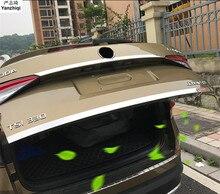 Для 2017 2018 Skoda kodiaq автомобиль арьергарды ствол сзади хвост коробки отделкой сзади задний багажник защиты пайетки авто аксессуары