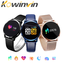 Kowinvin Pedometer Smart Watch Men Women Heart Rate Blood Pressure Oxygen Monitor OLED Screen Bluetooth Sport Wearable Devices