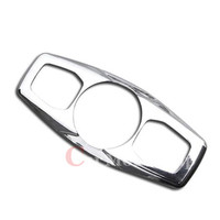 Stainless Steel Rear Reading Light Lamp Cover 1pcs For Ford EVEREST SUV 4DR 2015 2016 car styling accessories