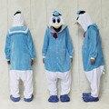 Donald Duck Costume ( sem sliper incluído ) para adulto dos desenhos animados Animal Cosplay Onesies pijama macacão Hoodies para o dia das bruxas