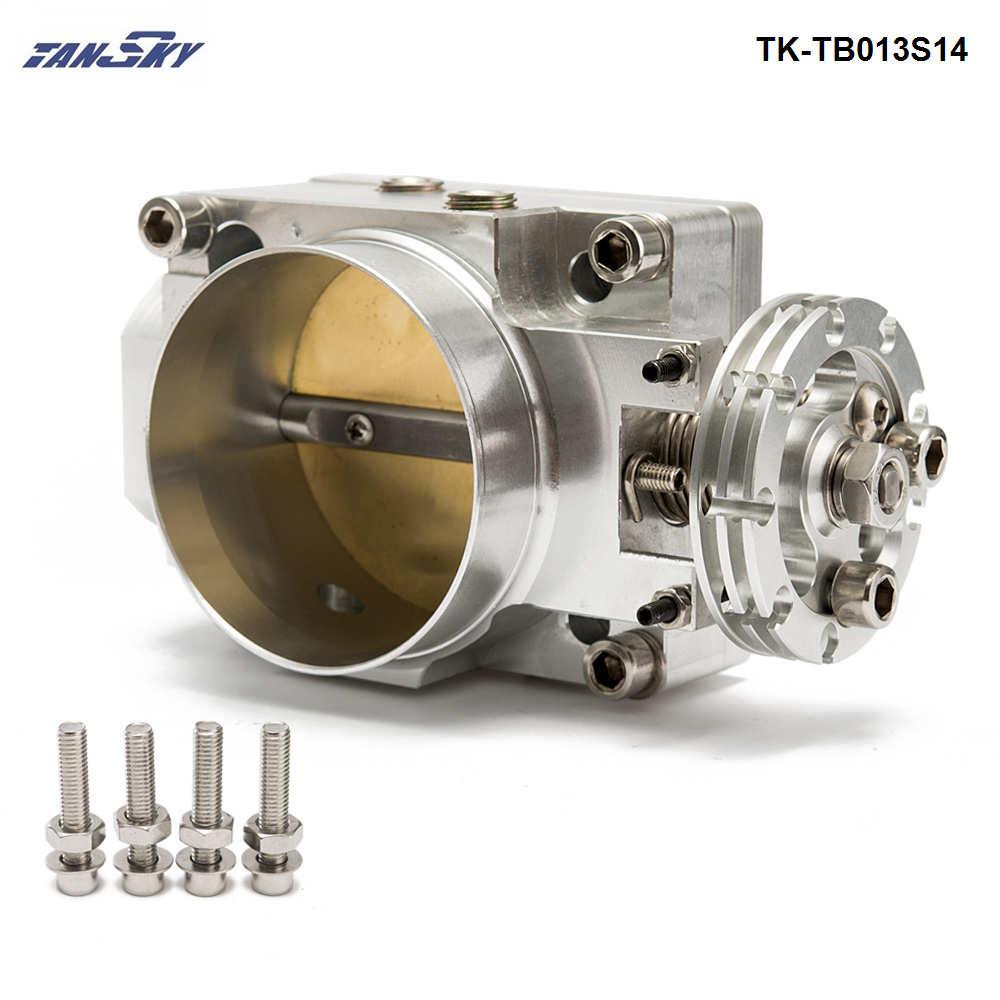цена на TANSKT- 70mm Intake Manifold Throttle Body For Nissan SR20DET Engines Only TK-TB013S14