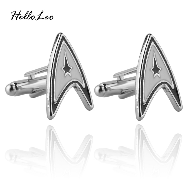 Star Trek Badge Cufflinks for Men