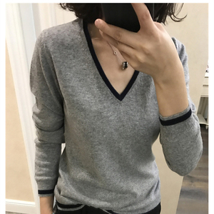 Image 2 - High Quality Cashmere Sweater Women Winter Pullover Solid Knitted Sweater Top for Women Autumn Female Oversized Sweater