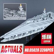 Estrella 05028 LEPIN Execytor Juguetes Para Boy Super Star Wars Building Blocks Ladrillos Presente Modelo Destructor 10221 Regalos Educativos