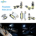 XIEYOU 9pcs LED Canbus Interior Lights Kit Package For Roadster R59 (2012+)