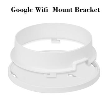 Uchwyt mocujący do stołu ściennego do wspornika bezpieczeństwa Google Wifi biały tanie i dobre opinie KKMOON Security Bracket