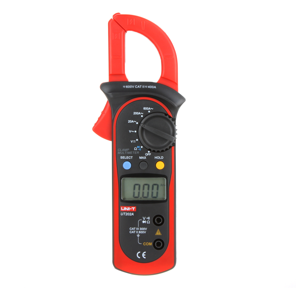Voltage Clamp Meter : Uni t ut a data hold clamp meter dc ac voltage