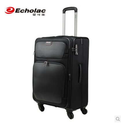 60dc05032 [Echolac Luggage]Echolac Business Rolling Luggage Spinner Luggage Travel  Luggage Boarding Soft Suitcase Travel Bag CT409