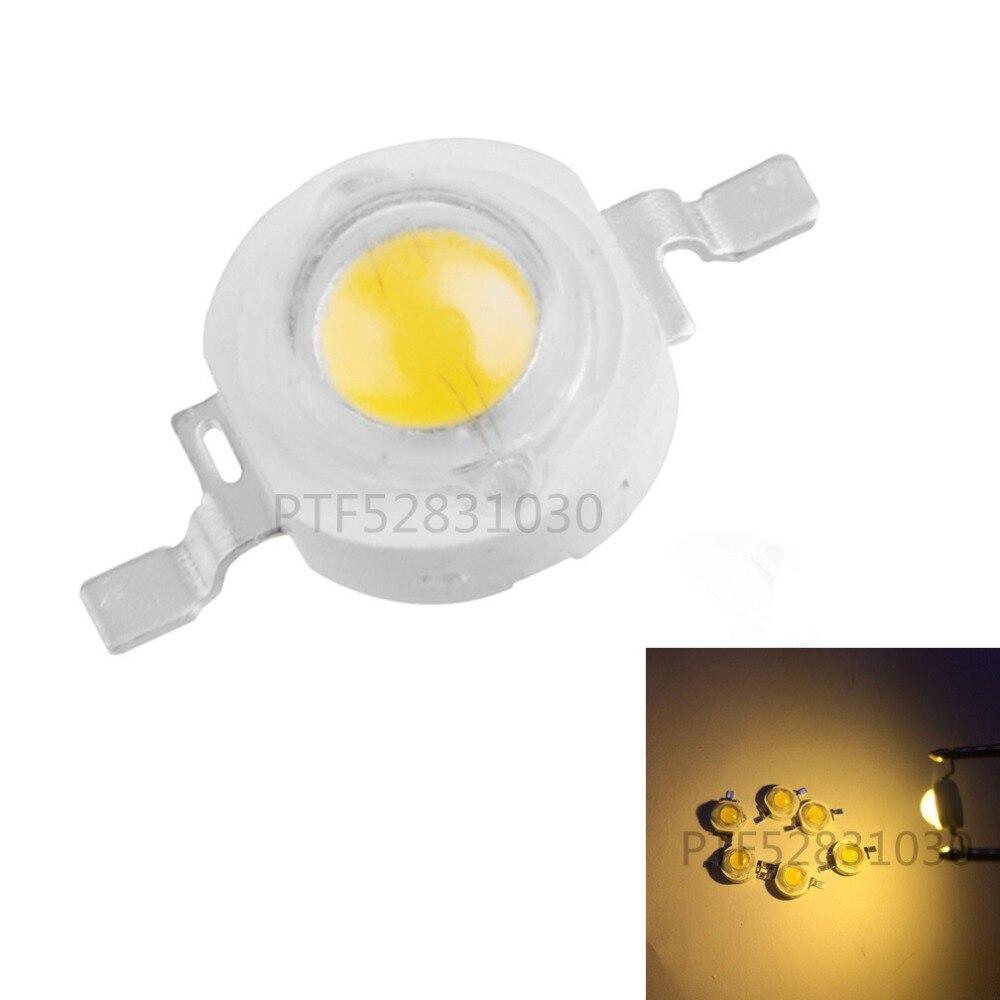10 1000Pcs LED COB Lamp Chip 1W 3W 3 2 3 6V Input 100 220LM Mini LED Bulb Diode SMD For DIY LED Floodlight Spotlight Downlight in Light Beads from Lights Lighting