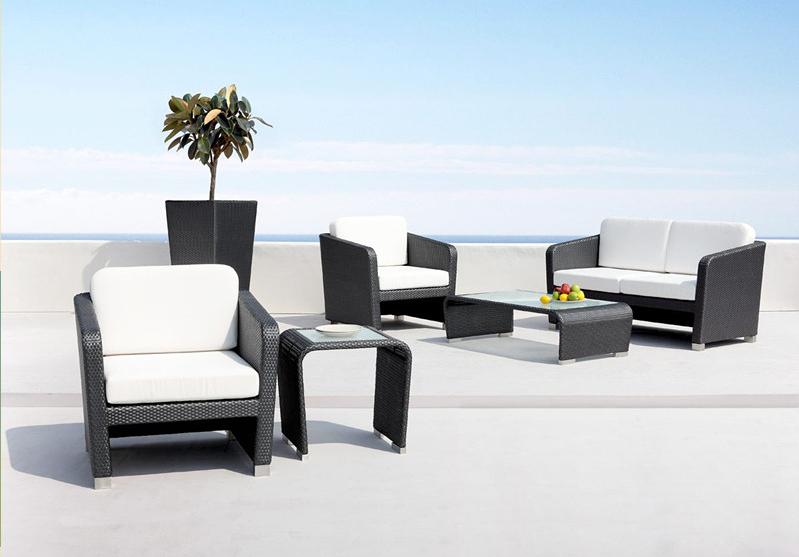nueva barato muebles de jardn de ratn conjunto de sofs de mimbre del patio al