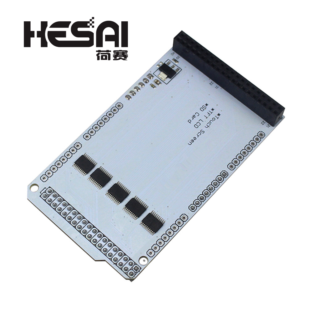 <font><b>TFT</b></font> <font><b>3.2</b></font> inch MEGA Touch LCD Expansion Board Shield IC Partial Pressure for <font><b>arduino</b></font> Compatible with MEGA 2560 image