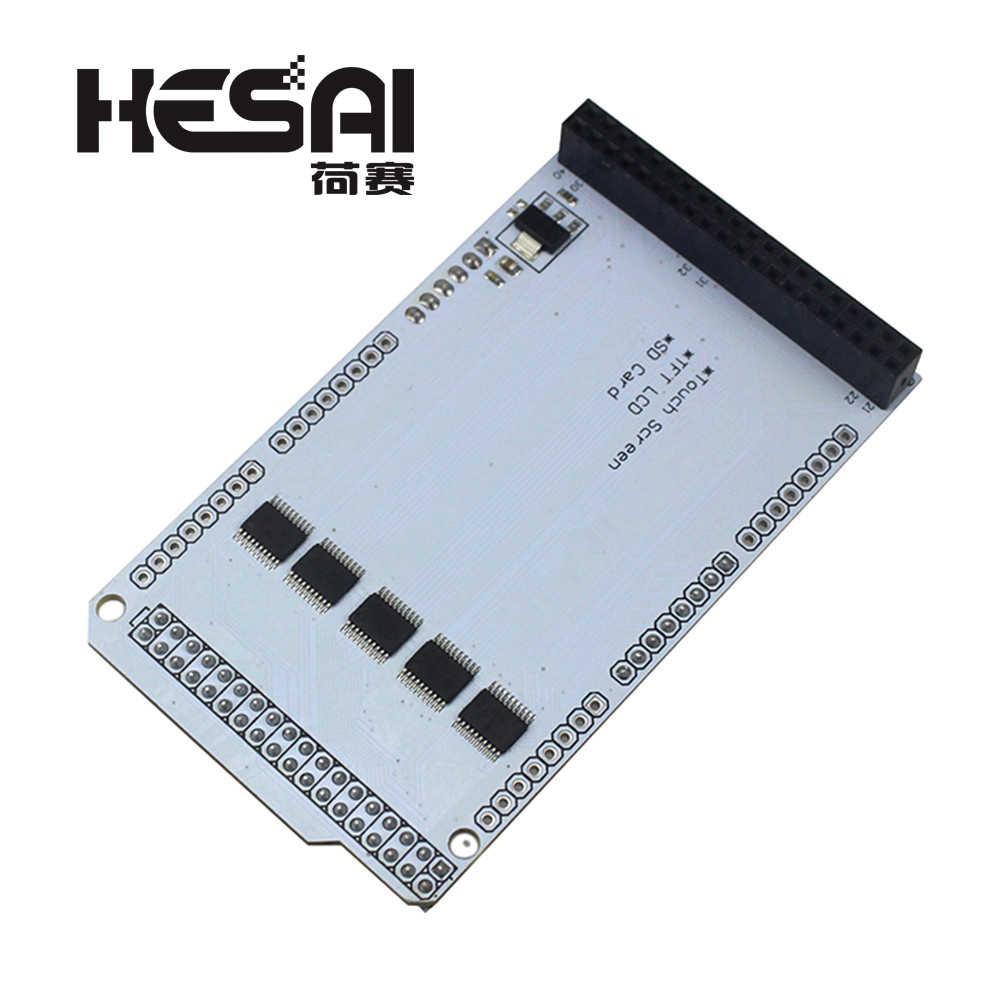 TFT 3.2 pouces MEGA Touch LCD carte d'extension bouclier IC pression partielle pour arduino Compatible avec MEGA 2560