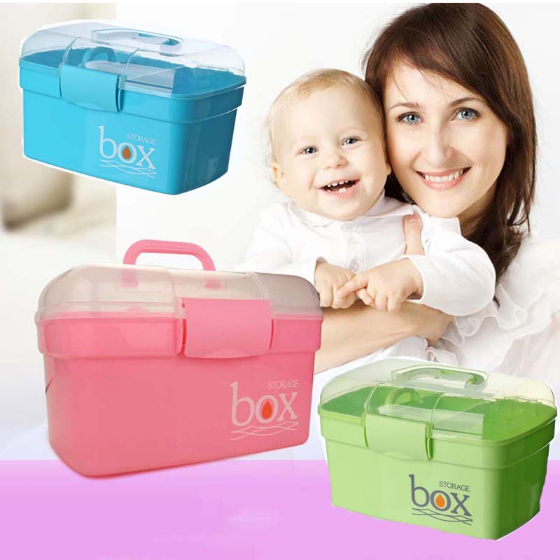 Multi layer Small Baby Food Container Medical Storage Case ...