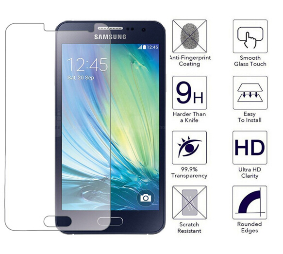 SM-A500FU SM-A500F SM-A500H Պաշտպանիչ ապակու - Բջջային հեռախոսի պարագաներ և պահեստամասեր - Լուսանկար 4