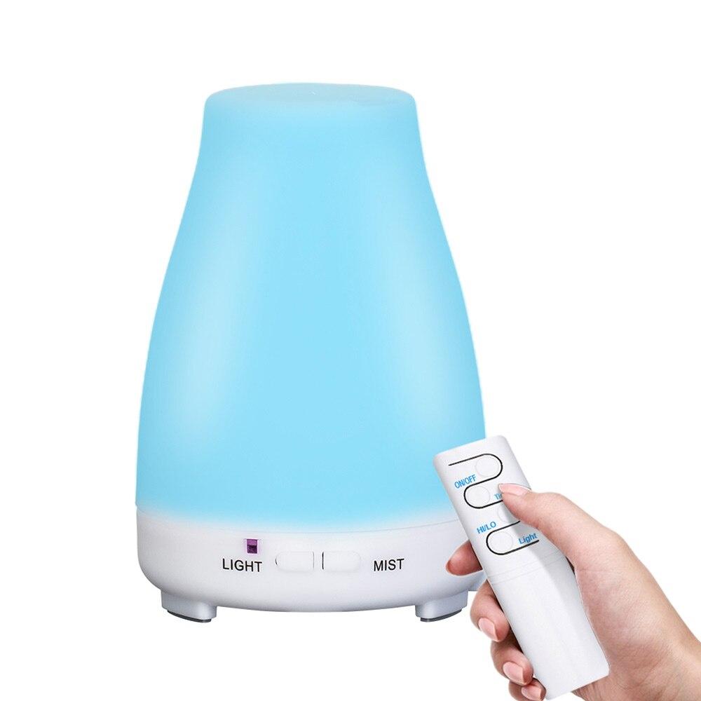 Ultraschall-luftbefeuchter Aromatherapie Öl Diffuser Kühlen Nebel Mit Farbe Led-leuchten ätherisches öl diffusor Wasserlosen Auto abschaltung