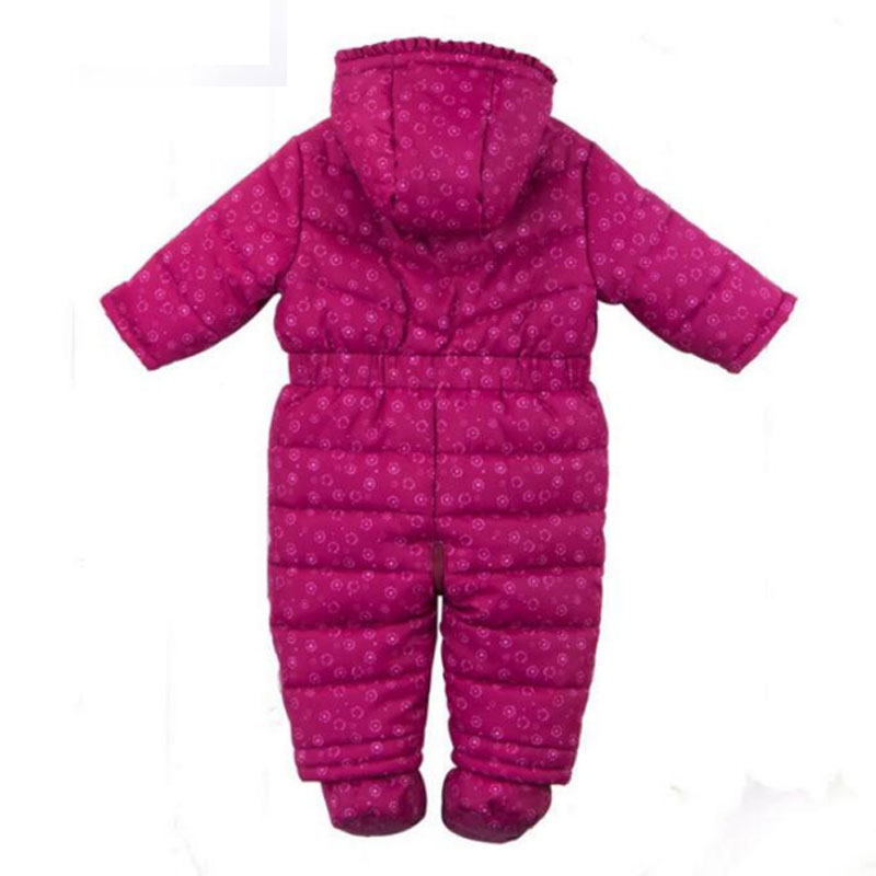 High Quality Baby Rompers Winter Thick Cotton Boys Costume Girls Warm Clothes Kid Jumpsuit Children Outerwear Baby