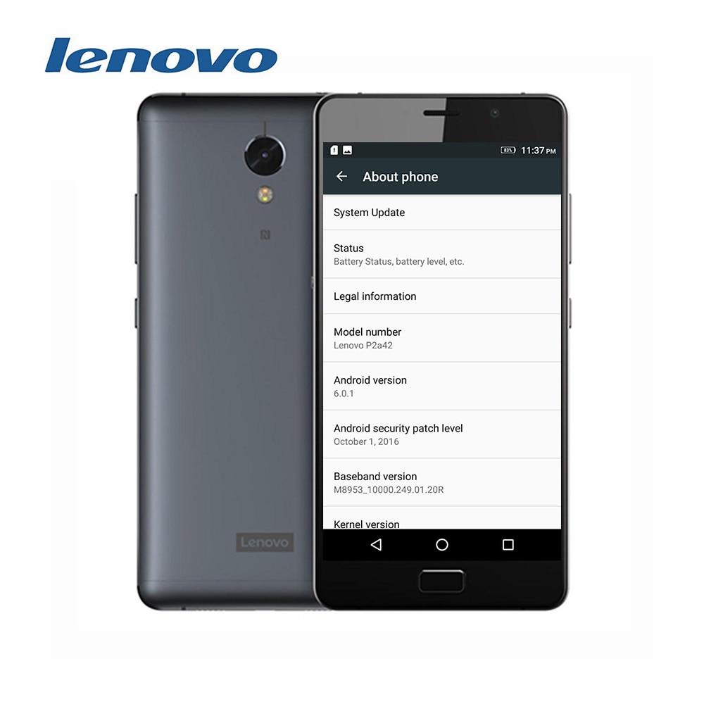 "bilder für Original Lenovo Vibe P2 C72 Globale firmware 5,5 ""FHD Snapdragon 625 Android 6.0 4G LTE smartphone 4 GB RAM 64 GB ROM 13MP NFC OTA"