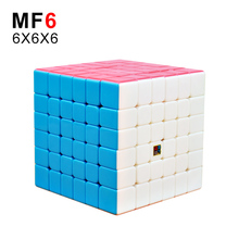 Moyu MF6 Cubing Classroom 6x6x6 Magic Cube Stickerless Professional Puzzle Speed Cubes Educational Toys For Kids mofangjiaoshi