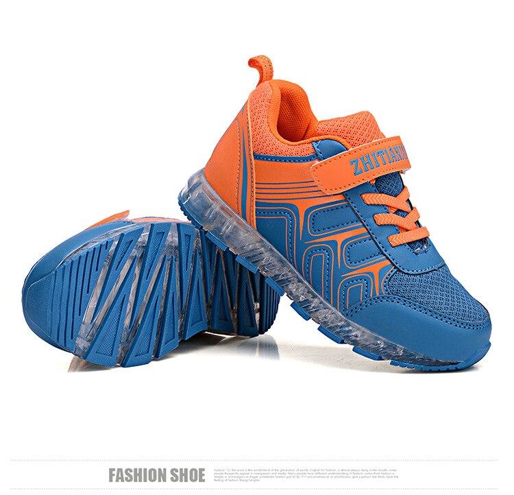 Весна и осень-зима детей световой Обувь для отдыха для мальчиков и девочек <font><b>LED</b></font> USB Перезаряжаемые спортивные Студенты Обувь yxx