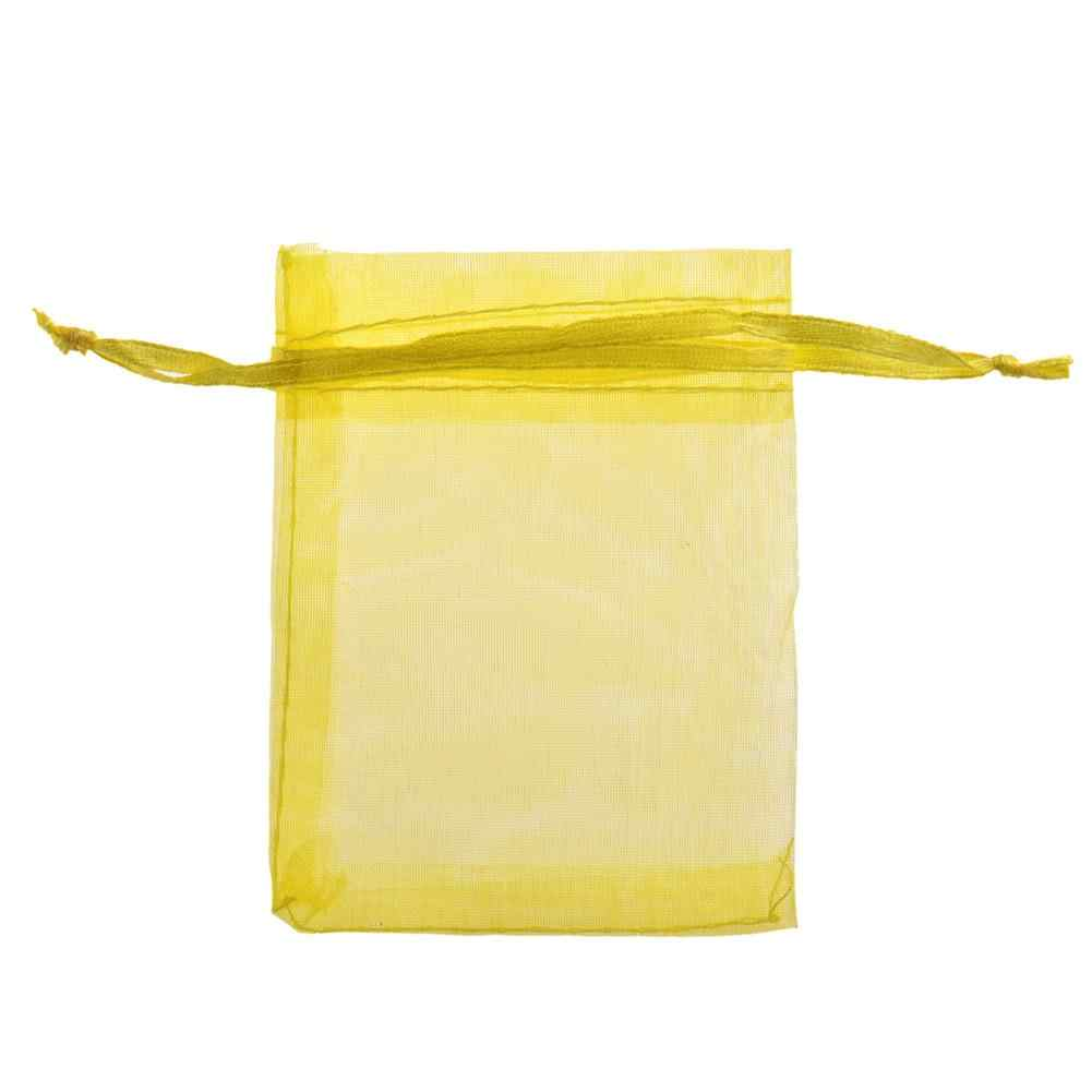 Bolsa de hilo bolsa para golosinas de boda/bolsa de Accesorios amarillo