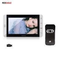 REDEAGLE Hause 7 zoll video tür telefon intercom System Unterstützung Max 32GB Sd-karte Aufnahme Nehmen Foto