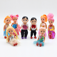 3 5 inch Popular High Original Toys for Girl Barbie Dolls with lots of Fashion Clothes