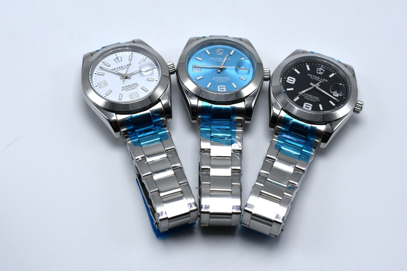 HTB1b1EAamtYBeNjSspaq6yOOFXaP Silver Watch | Fashion PETER LEE Nautilus | Brand Luxury Full Steel Bracelet Waterproof Automatic Mechanical Business Clocks Classic Dial 38mm Mens Watch