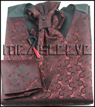 new arrive  formal wear  waistcoat (waistcoat+ascot tie+cufflinks+handkerchief)