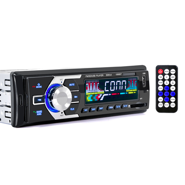 2017 New 12V Car Stereo FM Radio MP3 Audio Player Support Bluetooth Phone With USB/SD MMC Port Auto Electronics