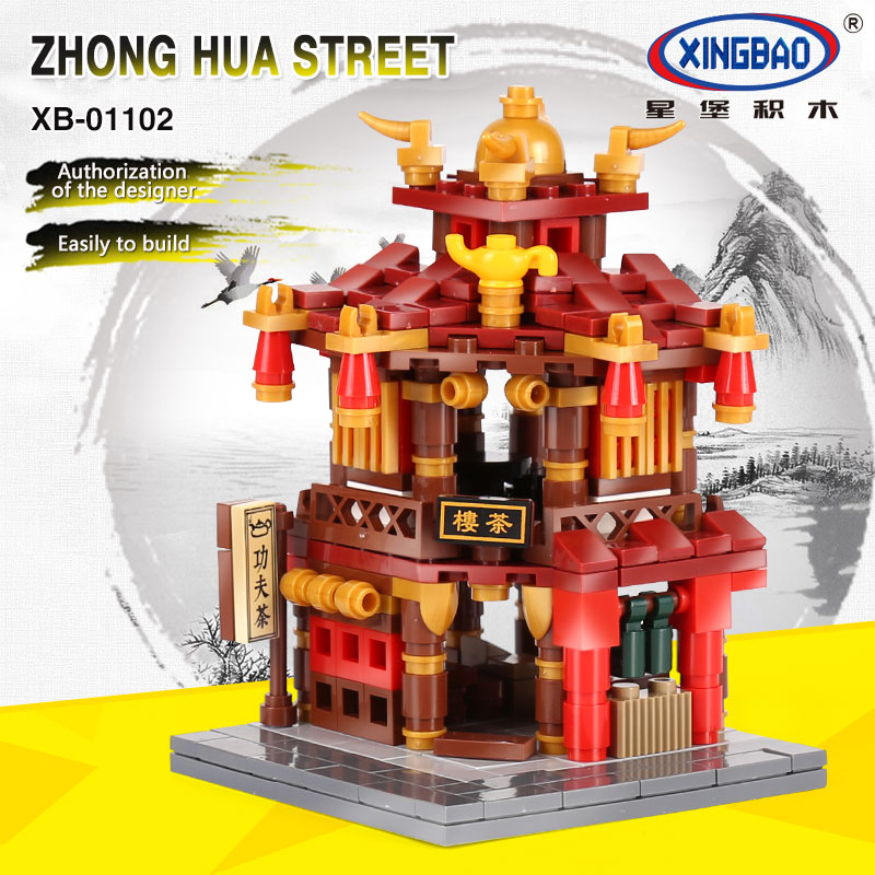XingBao-01102-Zhong-Hua-Street-Serie-1502Pcs-4-in-1-The-Teahouse-Library-Cloth-House-Wangjiang (1)